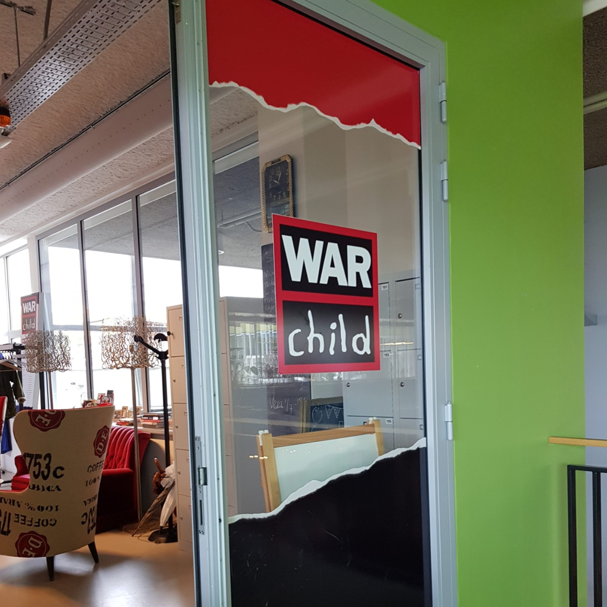 War Child kantoor